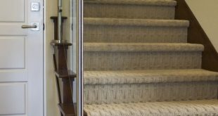 Stunning carpet for stairs 8 modern staircases featuring carpet: contemporary basketweave pattern vmhdpjv