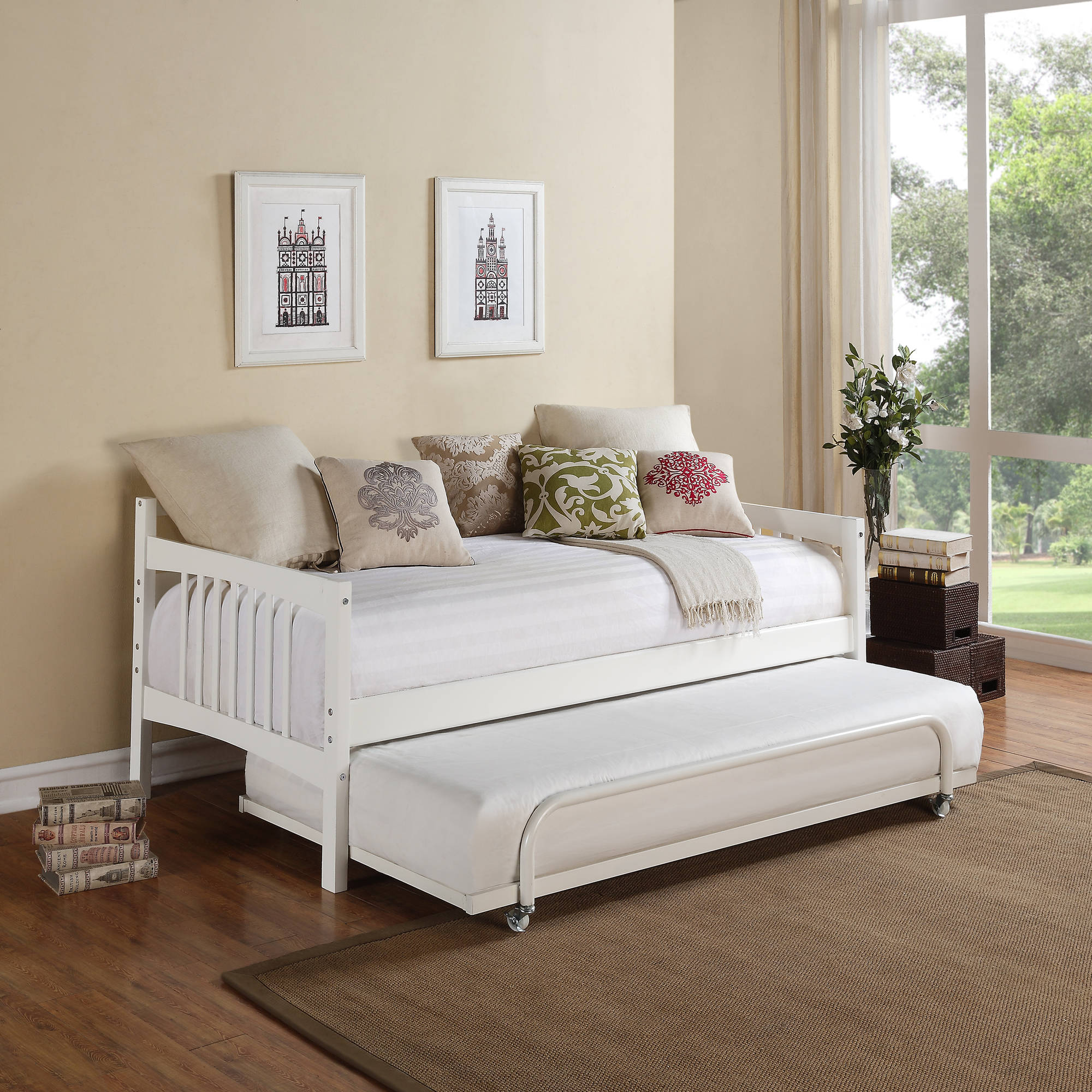 Stunning day beds dorel living kayden wood twin daybed, multiple colors ytopooh