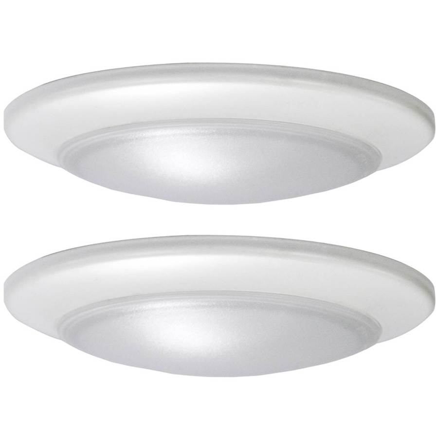 Stunning flush mount ceiling light project source 2-pack 7.4-in w led flush mount light yulbqwk