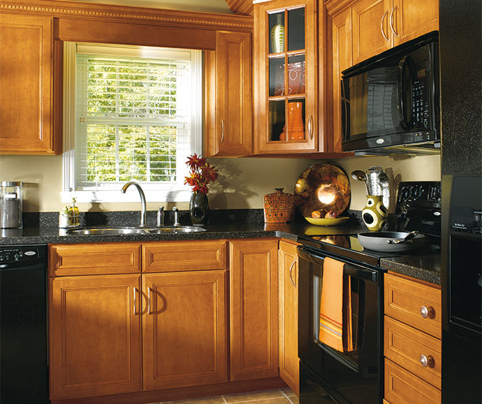 Stunning ... maple wood cabinets in traditional kitchen by aristokraft cabinetry ... lossgjr