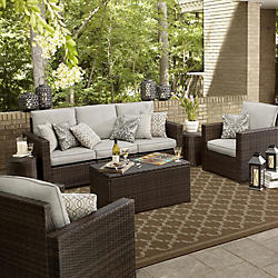 Stunning outdoor patio furniture casual seating sets jswecmo