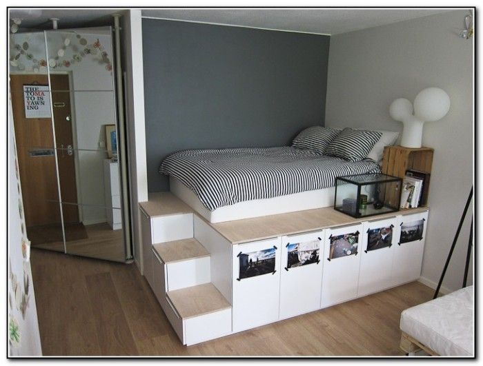 Stunning platform bed with storage free platform storage bed plans this bed plan is unique because it s utdbiul