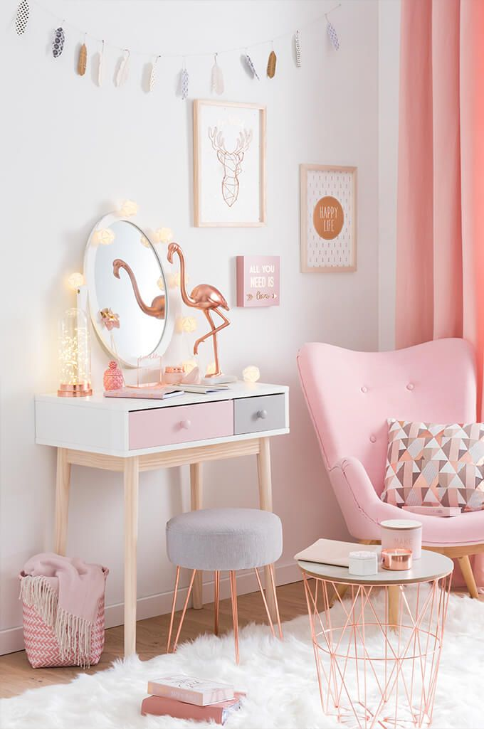 Stylish bedrooms for girls tendance déco modern copper - joli boudoir | maisons du monde ipzrknd