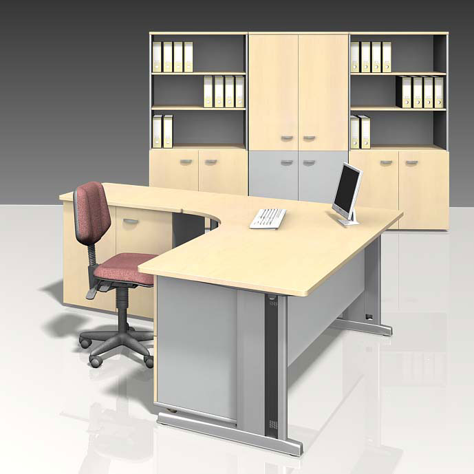 Stylish image of: modular office furniture executive mvxtncy