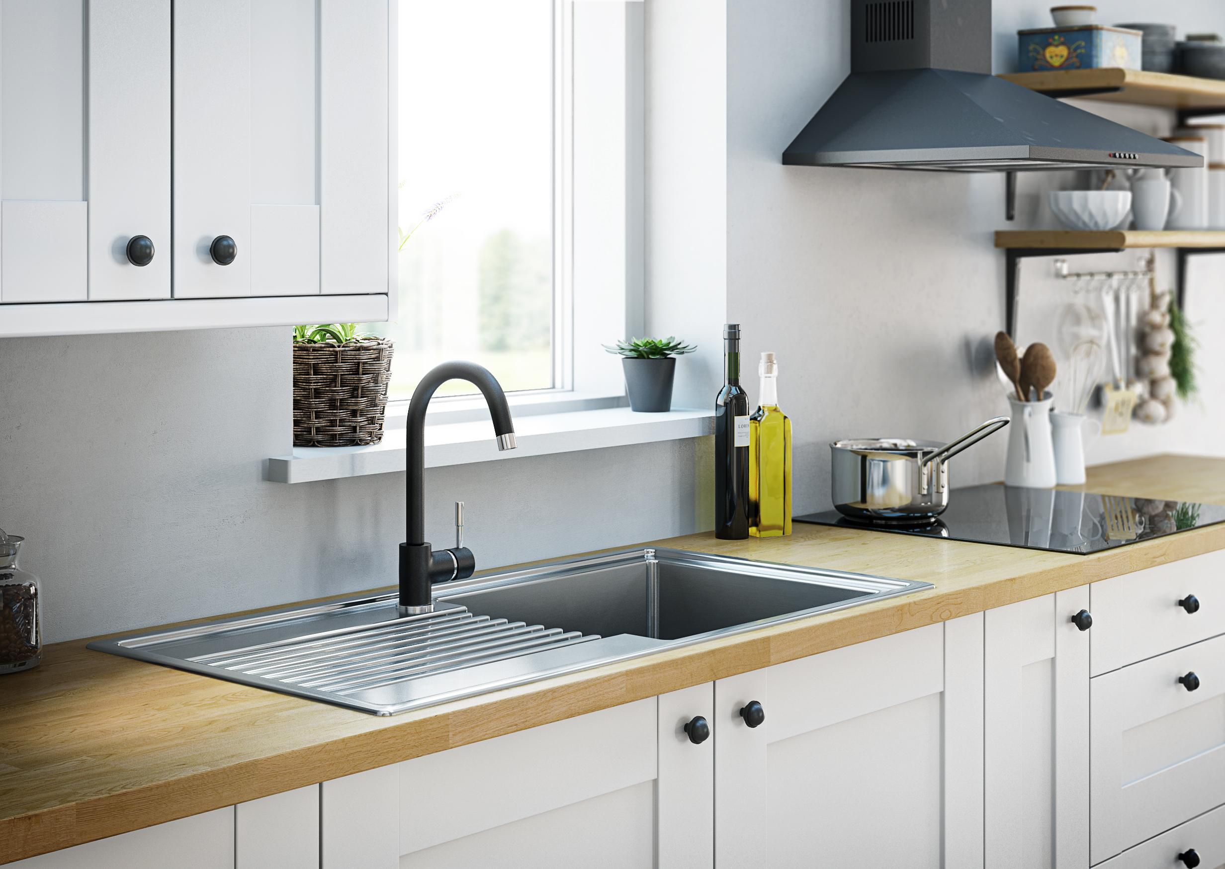 Decorate your kitchen with beautiful kitchen tap