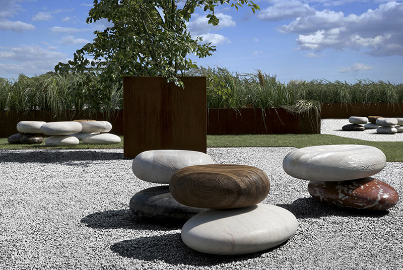 Stylish nature-inspired outdoor seating by kreoo ... cqafjer
