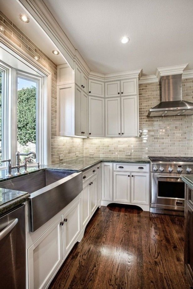 Stylish refinishing kitchen cabinets beautiful kitchen island ideas - part 2. painting kitchen cabinets. white  kitchen rinaxsx