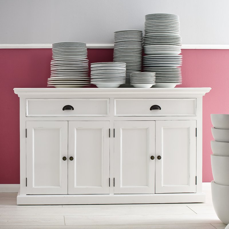 Significance of white sideboard