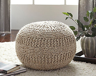 Trendy ottoman furniture home accent accessory on a white background rymurfp