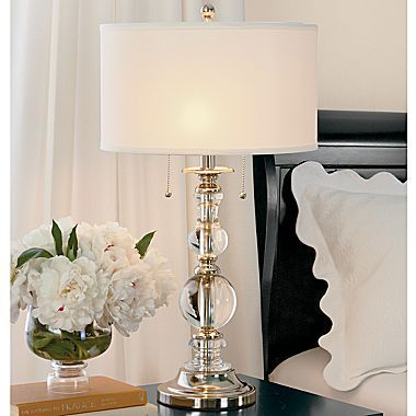 Unique bedroom lamps buy optic crystal table lamp today at jcpenneycom you deserve great deals oesrlhy