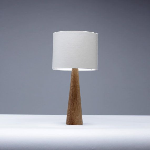 Unique bedside table lamps handmade solid oak wood bedside table lamp lausqoy