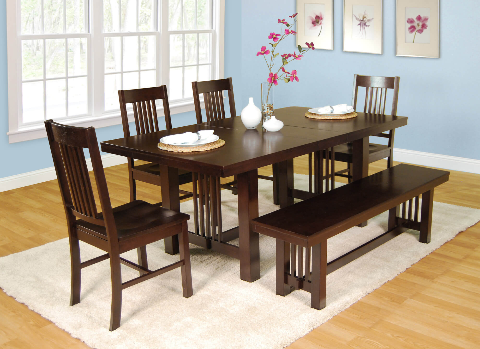 How to diy dining room sets with bench