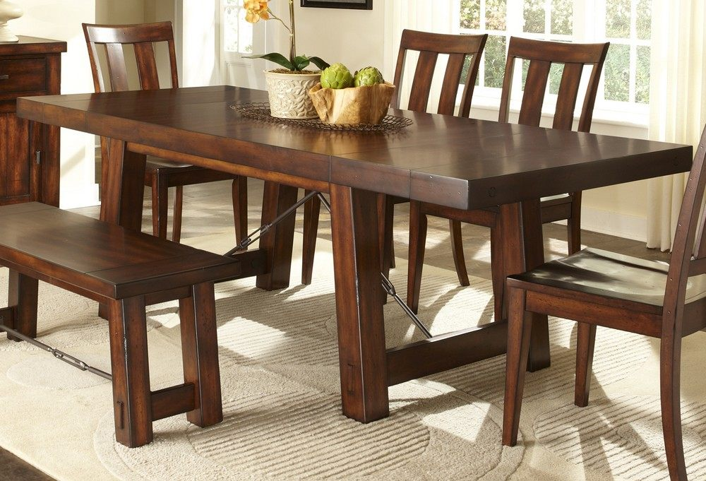 6 piece dining room sets with bench ndbjzpp