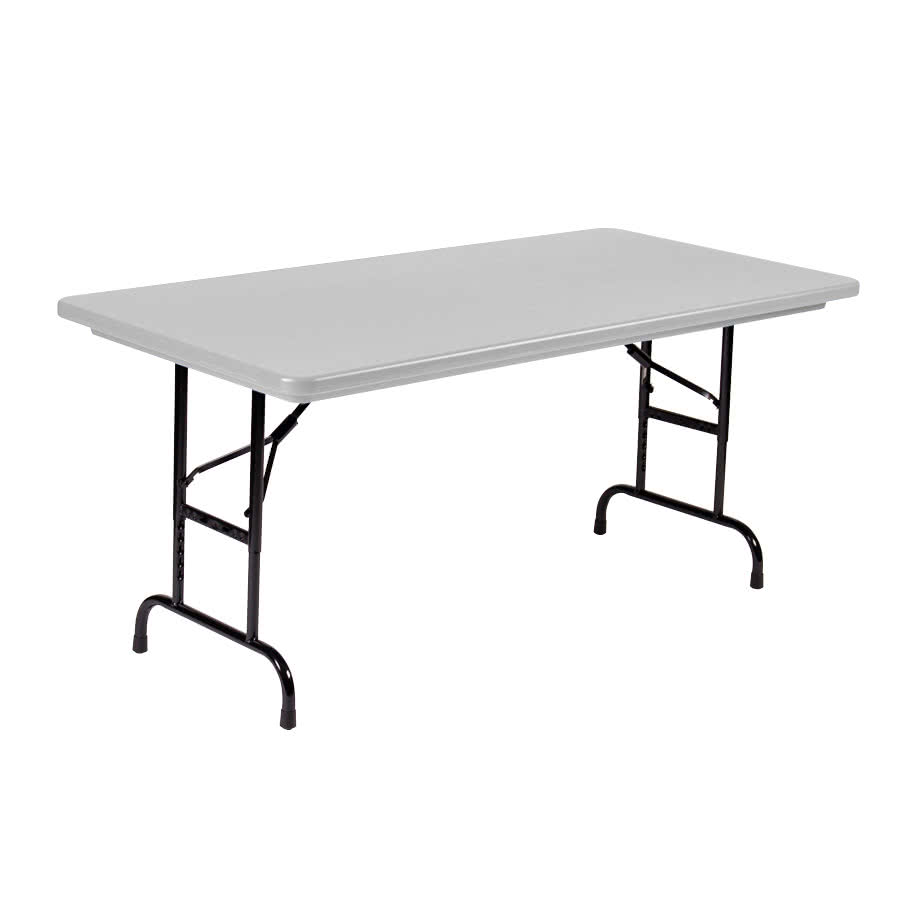 adjustable height folding table main picture vxezztp