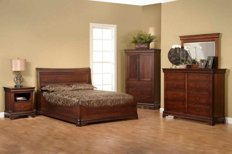 The timeless beauty in solid wood bedroom furniture choices