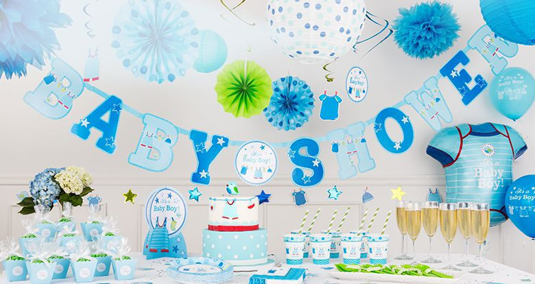 3 great themes with baby shower decorations for boy ideas