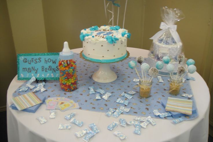baby shower table decorations | health and fitness schedule: itu0027s a boy!  xnnmgmr