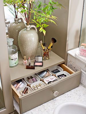 bathroom countertop storage beautiful 15-minute bathroom organization tips. bathroom countertop  storagebathroom ... brrzmpp
