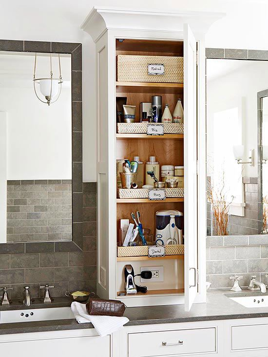 bathroom countertop storage bhg if more storage is a priority over expansive counter space in your etdahbz