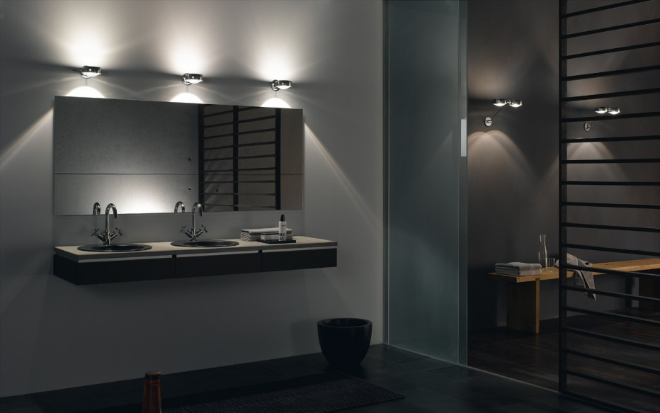 3 important things to consider for bathroom lighting fixtures over mirror