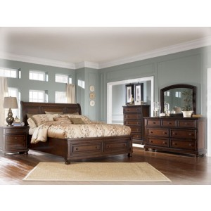bedroom furniture packages porter storage sleigh bedroom yiyzohp