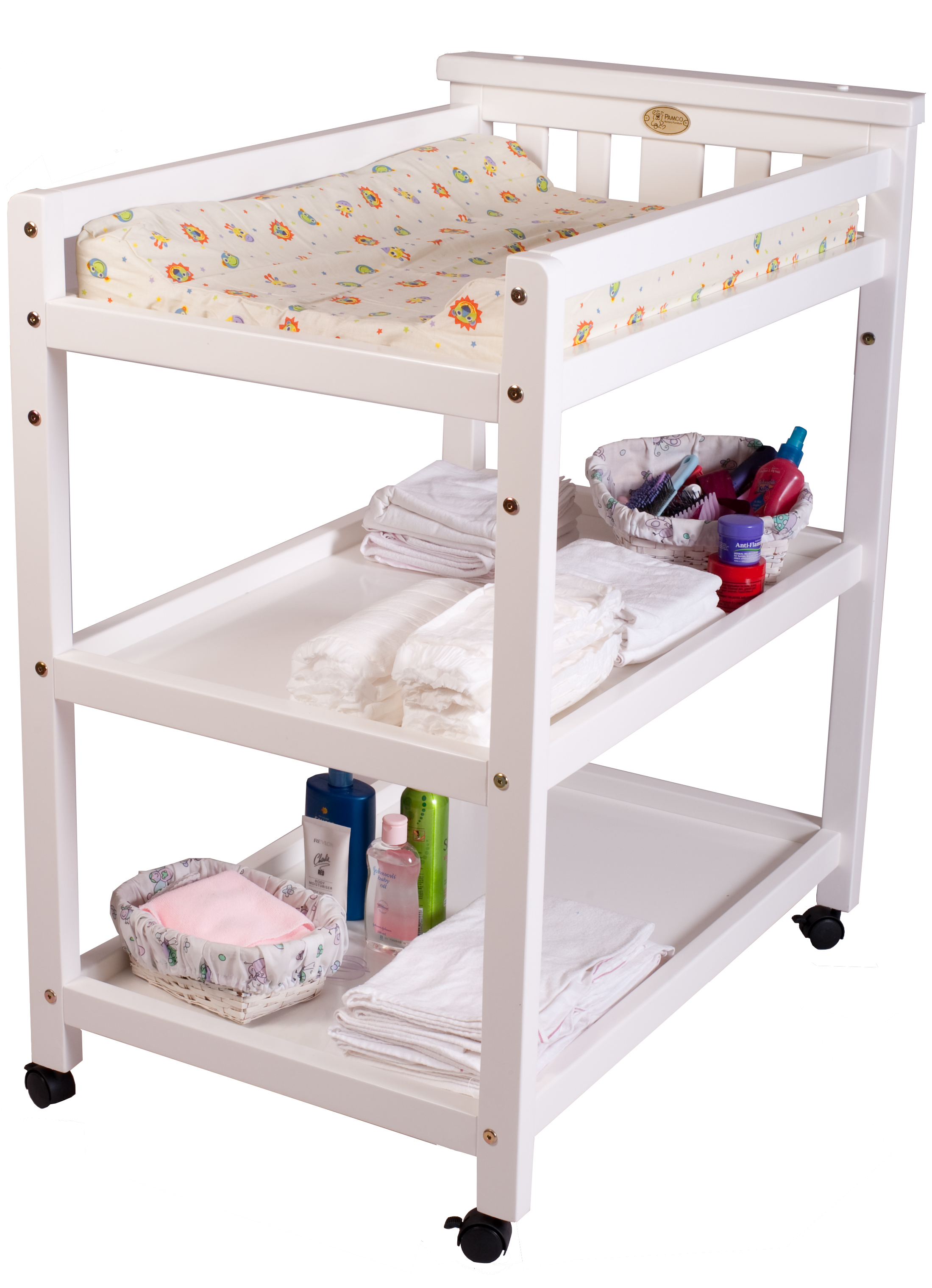 changing table with wheels simple small wood baby bed with changing table and shelves painted with wvphadw