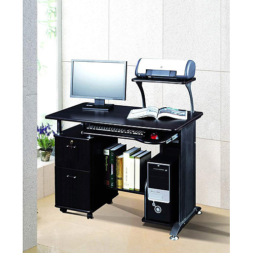 comfort products rothmin computer desk with storage cabinet jqqypzf