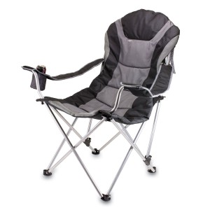 comfortable camping chairs 2-picnic-time-portable-reclining-camp-chair keajtvw