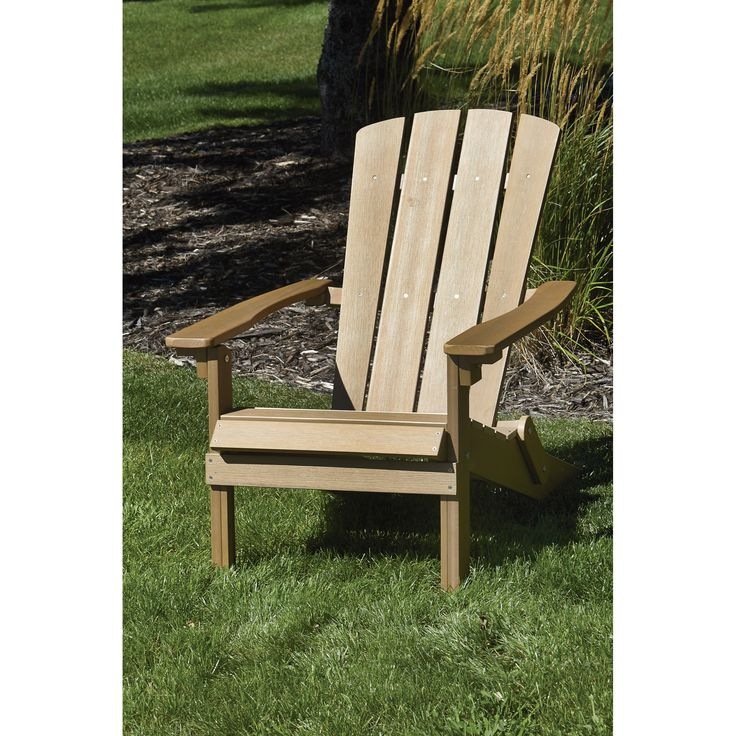 composite adirondack chairs stonegate designs folding resin adirondack chair - brown, model# 42005 zanloit