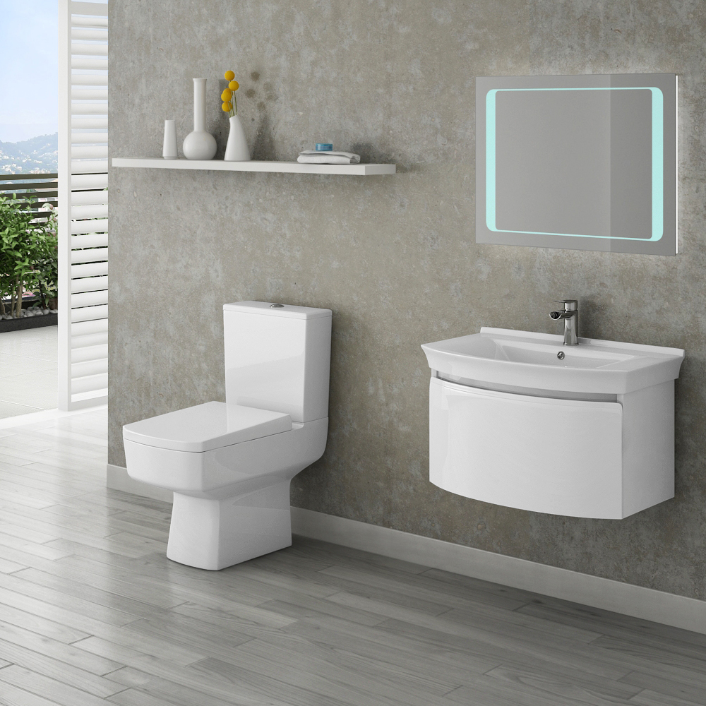 contemporary bathroom suites malaga contemporary bathroom suite | now at victorian plumbing.co.uk taareis