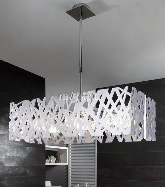 contemporary ceiling lights modern ceiling lighting fixture with white gloss frame | light fittings | pgvkwto