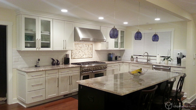 How to incorporate contemporary kitchen cabinets