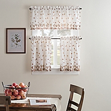 curtains for kitchen windows image of fresh bloom kitchen window curtain tiers and valance sclxflv