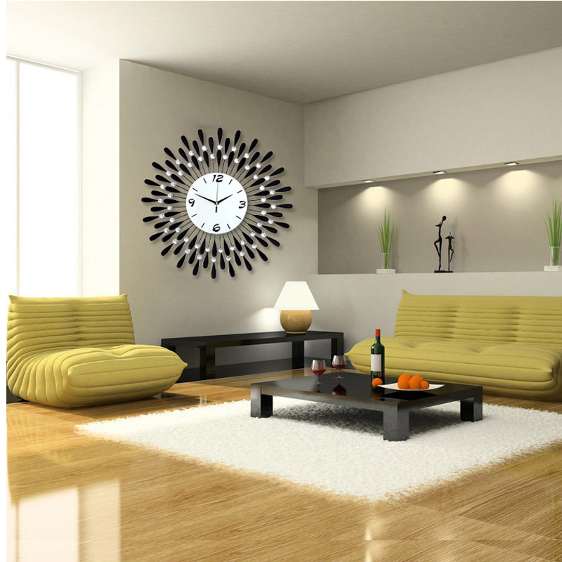 Why select wall clocks for living room
