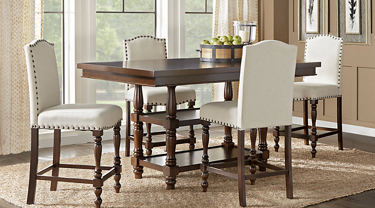 dining room furniture sets stanton cherry 5 pc counter height dining room ialjfow
