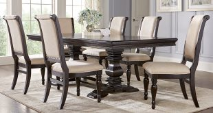 dining room table and chair sets westerleigh oak 5 pc rectangle dining room espvlxy