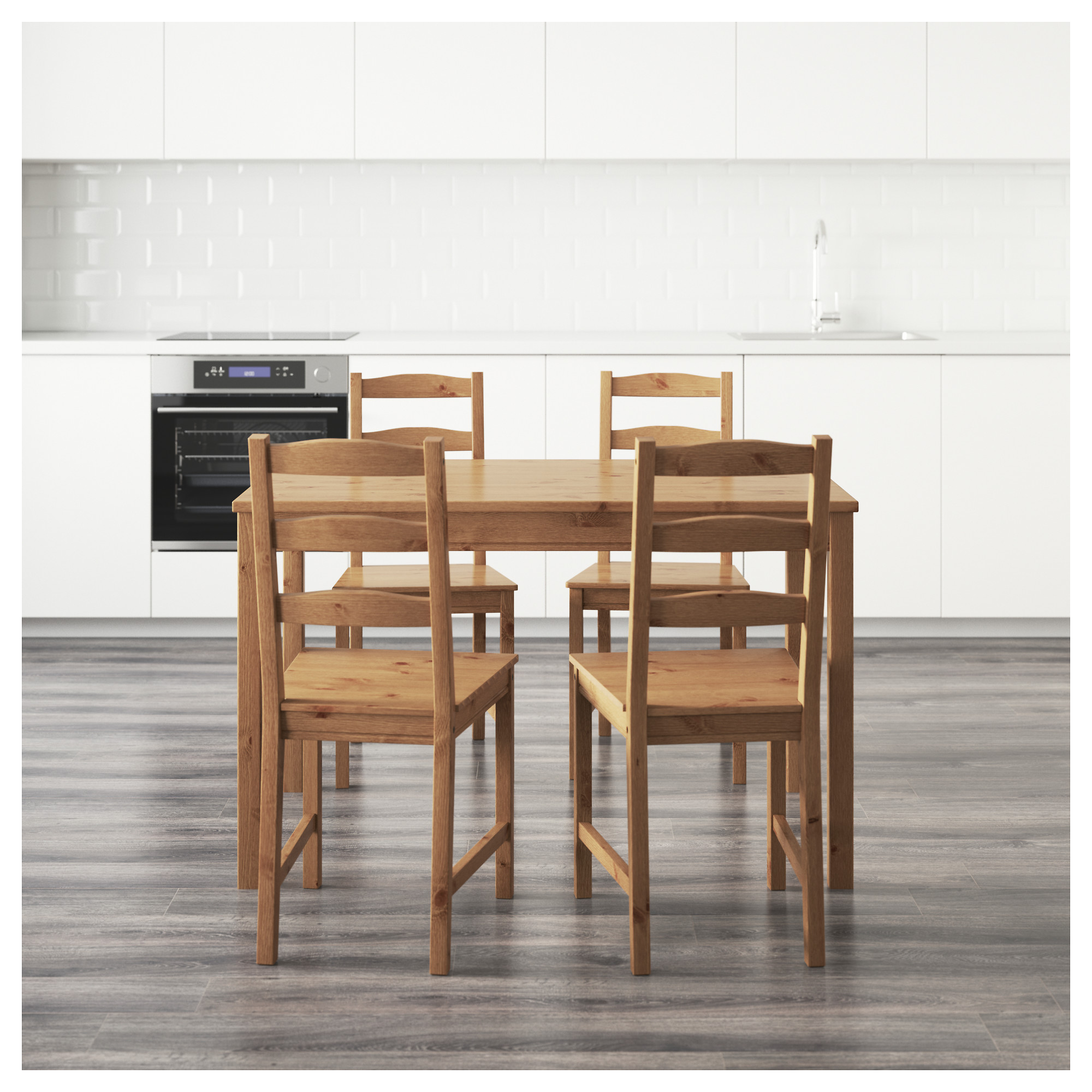 dining table and 4 chairs jokkmokk table and 4 chairs - ikea azdebrb