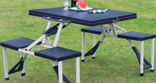 folding camping table and chairs buy folding picnic table and stools at argos.co.uk - your online shop for hkrqcyx