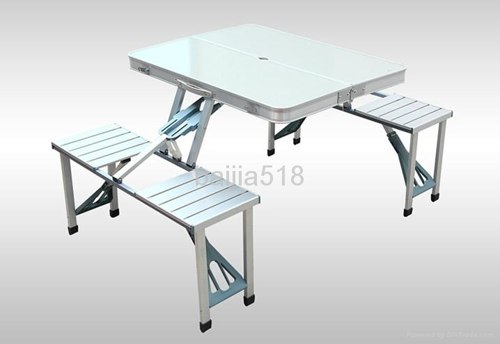 folding camping table and chairs product image smuocvh