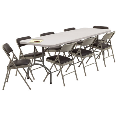 ... folding chairs and tables ngvxnnc