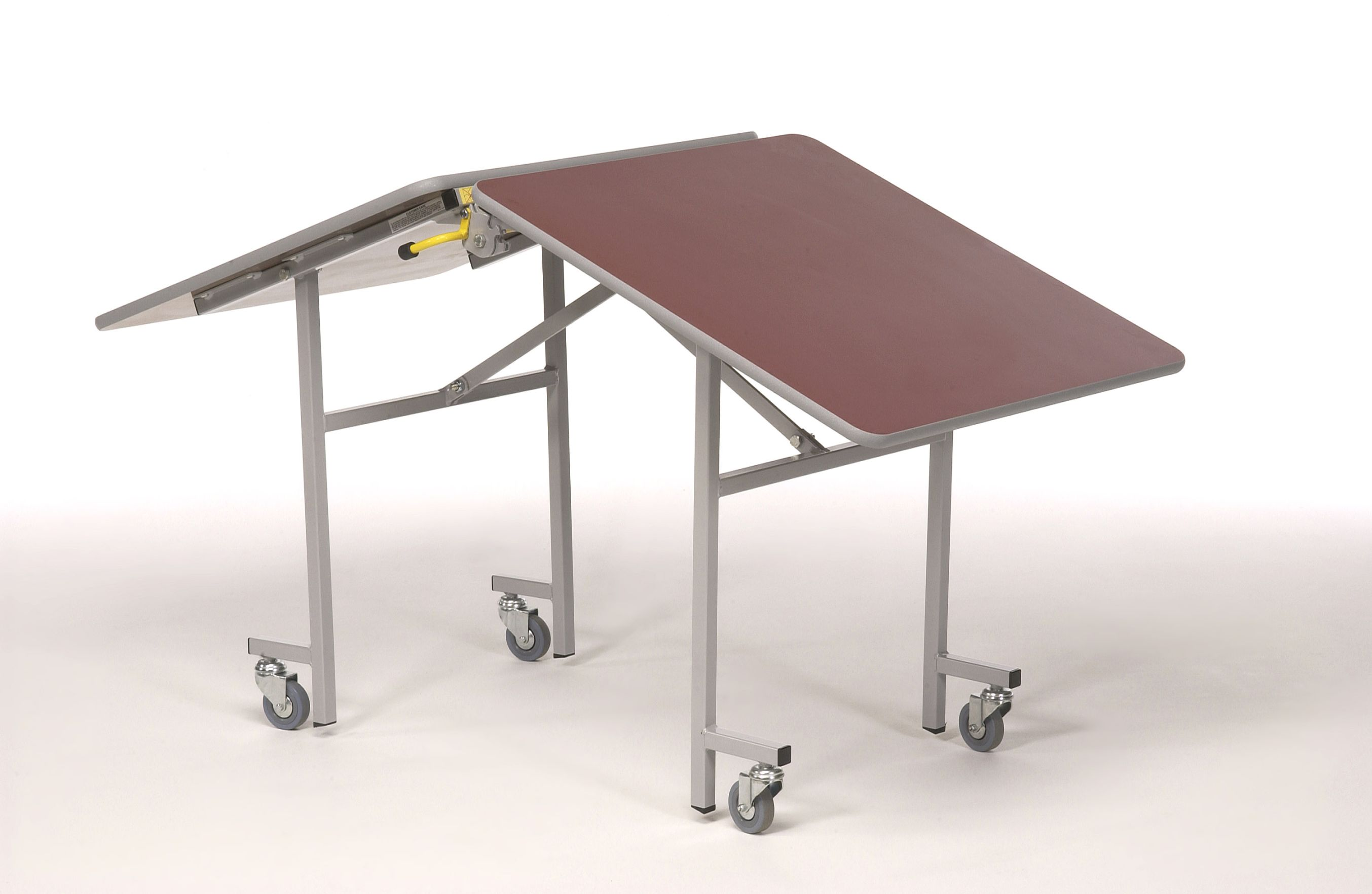 Importance of folding table with wheels in small living space