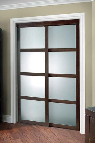 frosted glass closet doors colonial elegance x fusion plus framed frosted glass sliding door @ menards gxeeofb