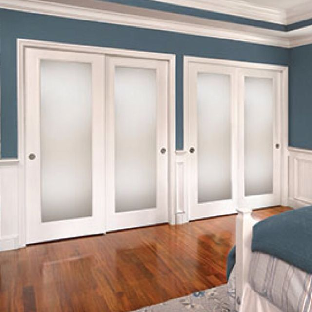 frosted glass closet doors ... french closet doors with frosted glass voczkal