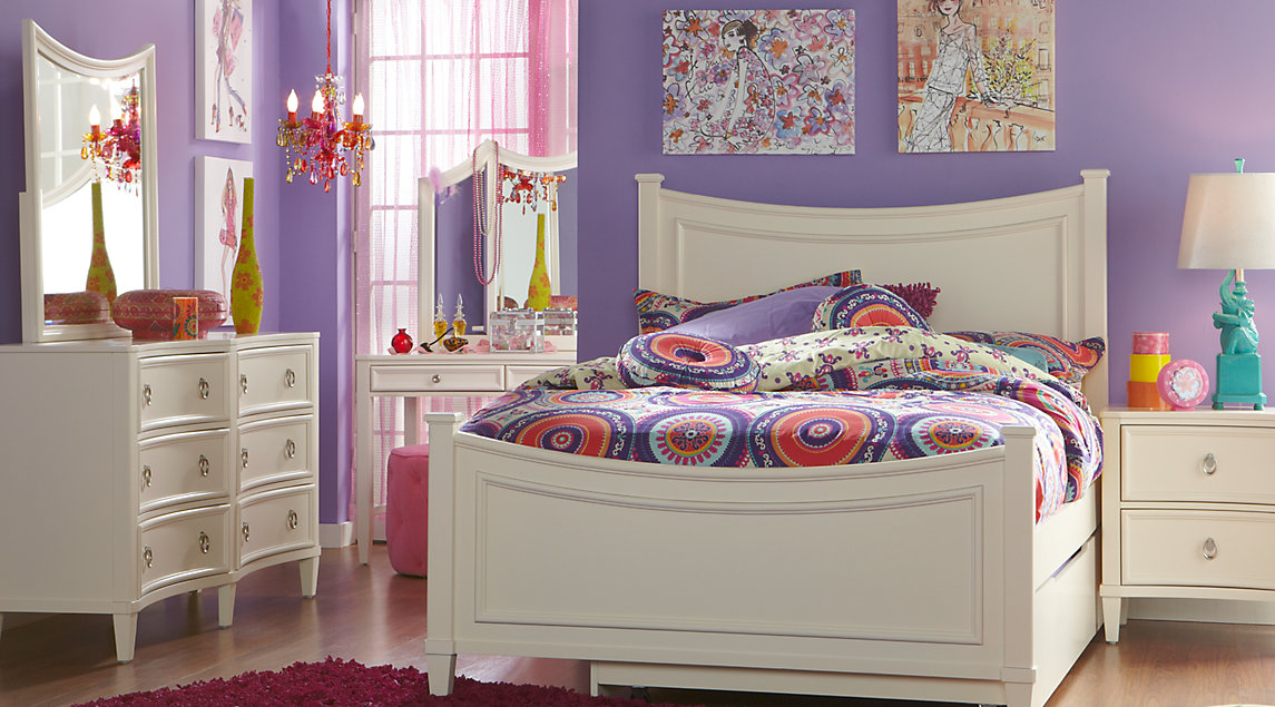 full size bedroom furniture sets jaclyn place ivory 5 pc full panel bedroom igdwmke