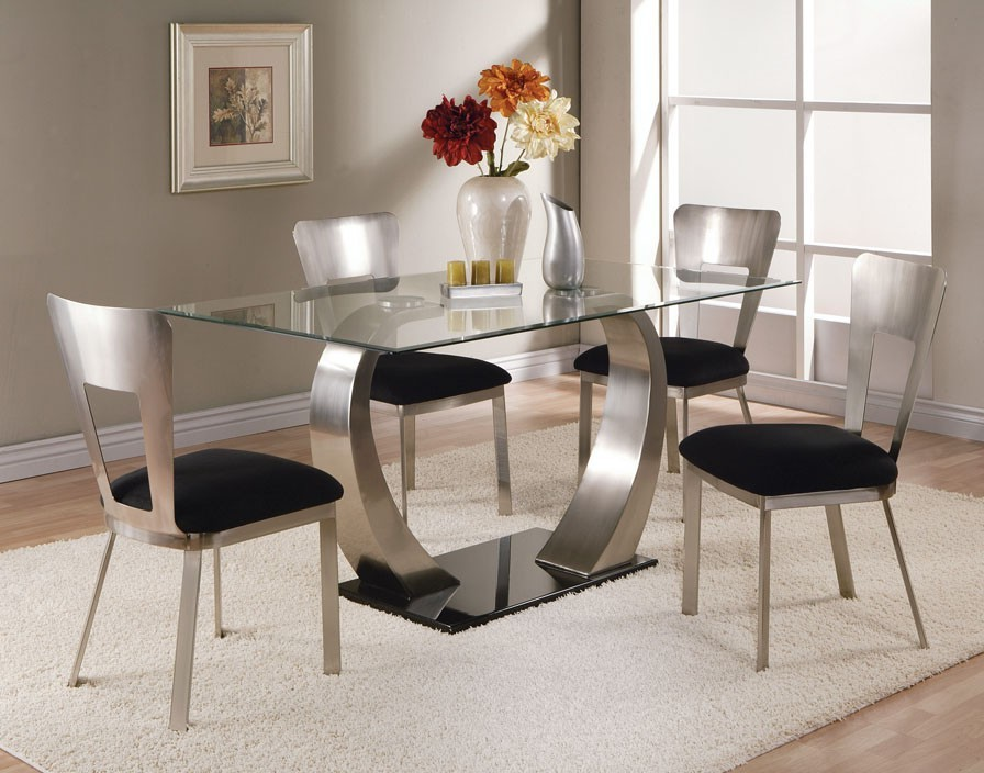 glass dining table and chairs glass dining table sets on dining room intended for stunning glass table set oadwkda