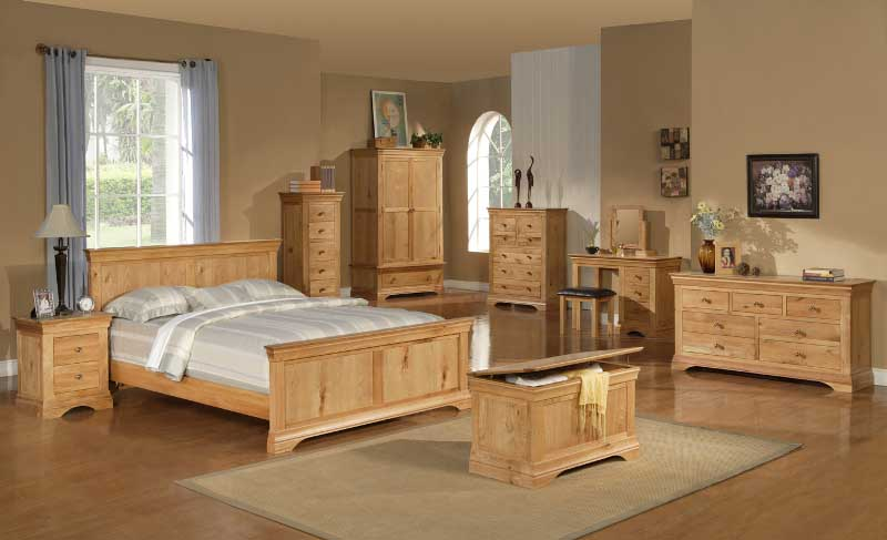 Oak bedroom furniture sets – splendid choices of style