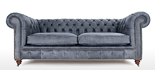 grey leather chesterfield sofa grey chesterfield sofas mfuedqo