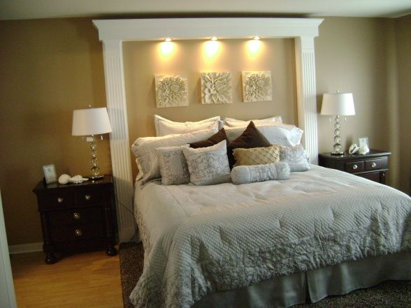 headboards for king size beds ... redisigned from its original decor w/ old carpet. small bedroom  furniture mqkvixa