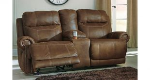 home; austere reclining loveseat with console. living room decorating idea vcaqcov