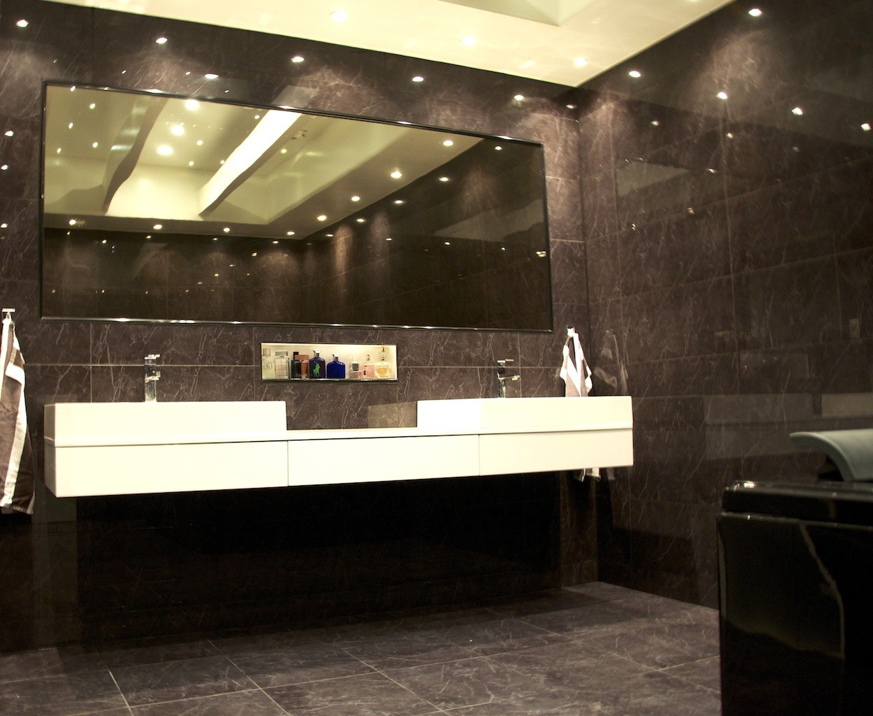 image of: good bathroom recessed lighting oaqbjiy